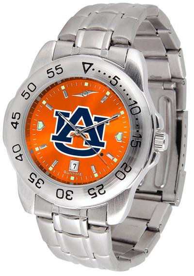 Auburn Tigers Sport Steel AnoChrome Watch | SunTime | ST-CO3-AUT-SPORTM-A
