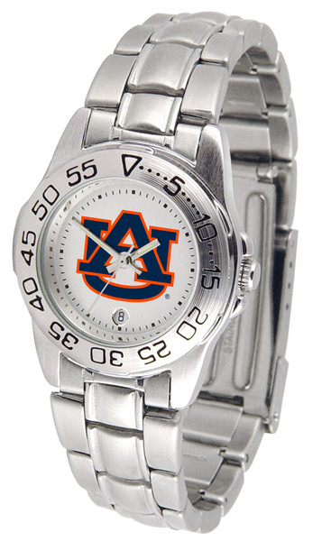 Auburn Tigers Ladies Sport Steel Watch | SunTime | ST-CO3-AUT-SPORTLM