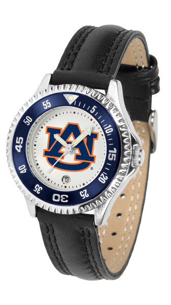Auburn Tigers Ladies Competitor Sport Leather Watch | SunTime | ST-CO3-AUT-COMPL