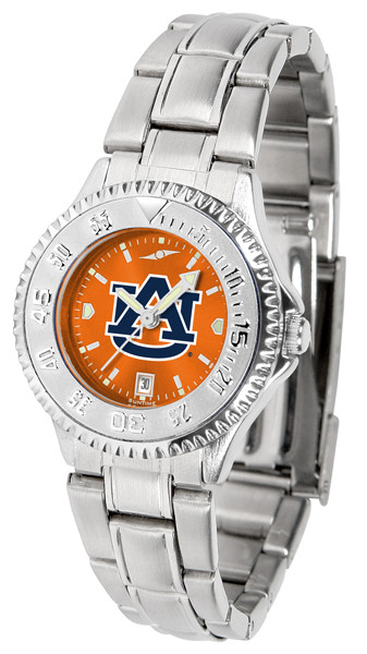 Auburn Tigers Ladies Competitor Steel AnoChrome Watch | SunTime | st-co3-aut-complm-a