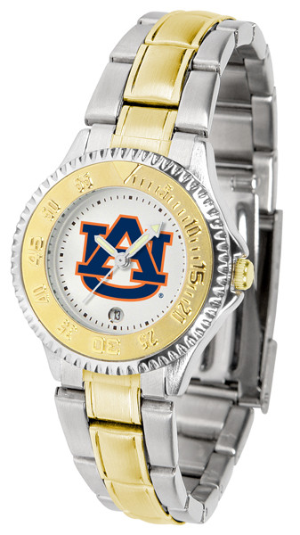Auburn Tigers Ladies Competitor Two-Tone Watch | SunTime | ST-CO3-AUT-COMPLMG