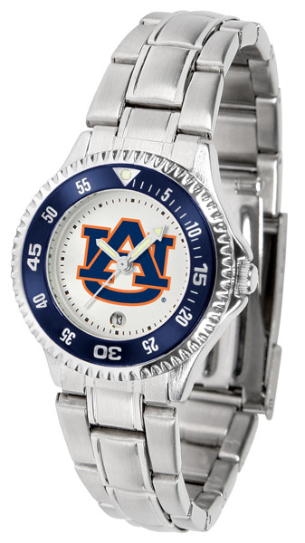 Auburn Tigers Ladies Competitor Steel Watch | SunTime | st-co3-aut-complm