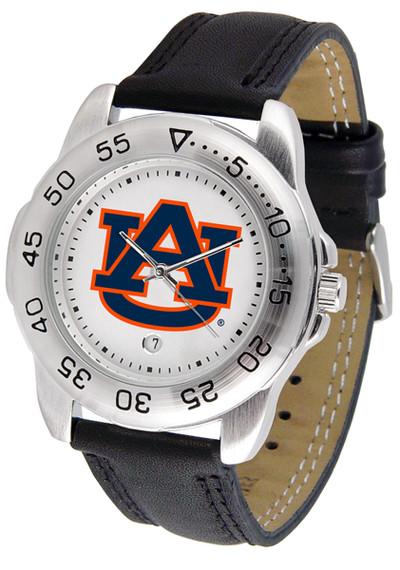 Auburn Tigers Men's Sport Leather Watch | SunTime | ST-CO3-AUT-SPORT2