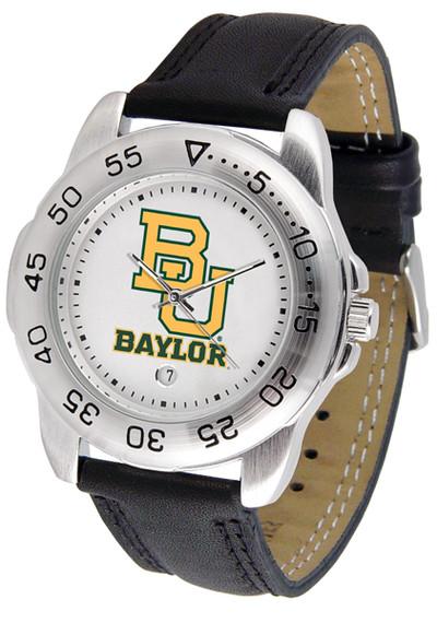 Baylor Bears Men's Sport Leather Watch | SunTime | ST-CO3-BAB-SPORT2