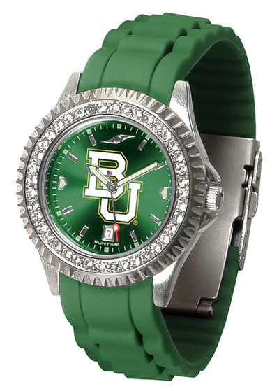 Baylor Bears Ladies Sparkle Watch | SunTime | ST-CO3-BAB-SPARKLE