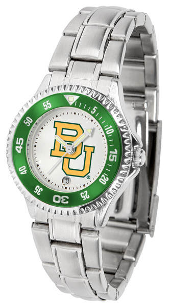 Baylor Bears Ladies Competitor Steel Watch | SunTime | st-co3-bab-complm