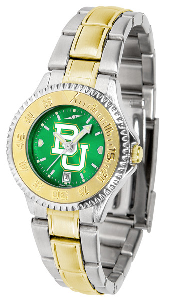 Baylor Bears Ladies Competitor Two-Tone AnoChrome Watch | SunTime | st-co3-bab-complmg-a