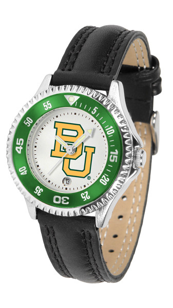 Baylor Bears Ladies Competitor Sport Leather Watch | SunTime | ST-CO3-BAB-COMPL