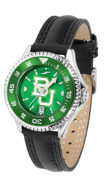 Baylor Bears Ladies Competitor AnoChrome Watch with Color Bezel | SunTime | ST-CO3-BAB-COMPL-AC