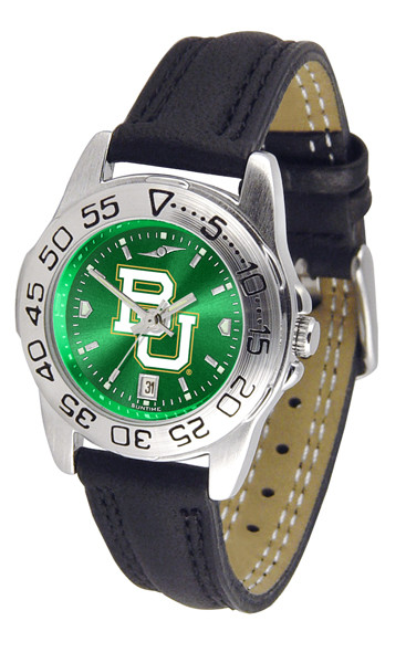 Baylor Bears Ladies Sport Leather AnoChrome Watch | SunTime | ST-CO3-BAB-SPORTL-A