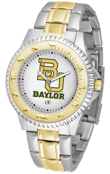 Baylor Bears Men's Competitor Two-Tone Watch | SunTime | ST-CO3-BAB-COMPMG