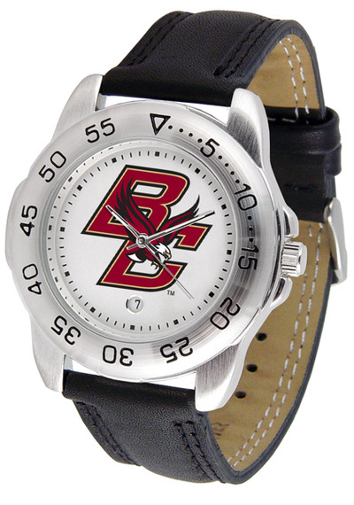 Boston College Eagles Men's Sport Leather Watch | SunTime | ST-CO3-BCE-SPORT2