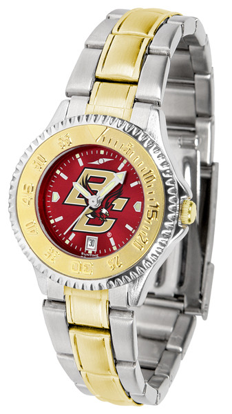 Boston College Eagles Ladies Competitor Two-Tone AnoChrome Watch | SunTime | st-co3-bce-complmg-a