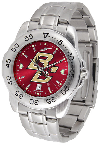 Boston College Eagles Sport Steel AnoChrome Watch | SunTime | ST-CO3-BCE-SPORTM-A