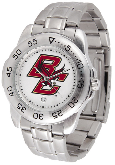 Boston College Eagles Men's Sport Steel Watch | SunTime | ST-CO3-BCE-SPORTM