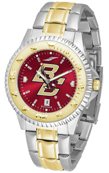 Boston College Eagles Men's Competitor Two-Tone AnoChrome Watch | SunTime | st-co3-bce-compmg-a