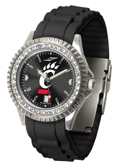 Cincinnati Bearcats Ladies Sparkle Watch | SunTime | ST-CO3-CIB-SPARKLE