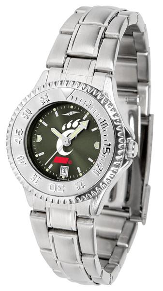 Cincinnati Bearcats Ladies Competitor Steel AnoChrome Watch | SunTime | st-co3-cib-complm-a