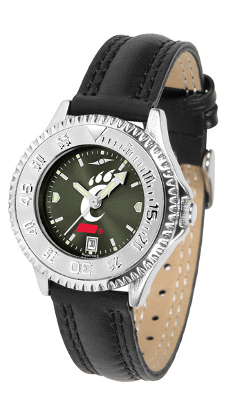 Cincinnati Bearcats Ladies Competitor AnoChrome Watch | SunTime | ST-CO3-CIB-COMPL-A