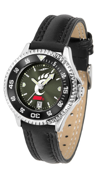 Cincinnati Bearcats Ladies Competitor AnoChrome Watch with Color Bezel | SunTime | ST-CO3-CIB-COMPL-AC