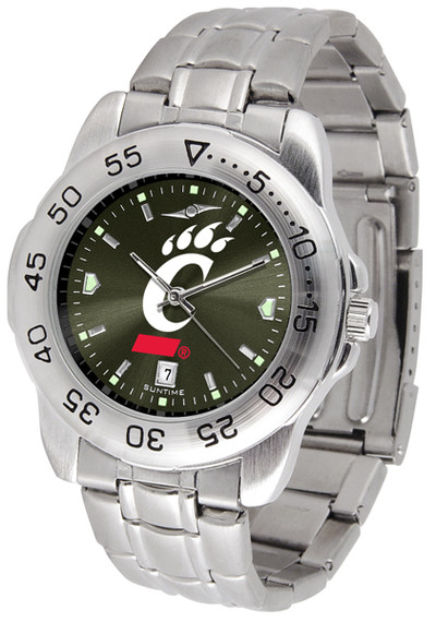 Cincinnati Bearcats Sport Steel AnoChrome Watch | SunTime | ST-CO3-CIB-SPORTM-A