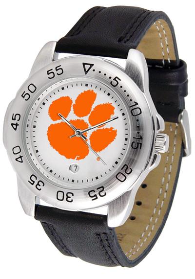 Clemson Tigers Men's Sport Leather Watch | SunTime | ST-CO3-CLT-SPORT2