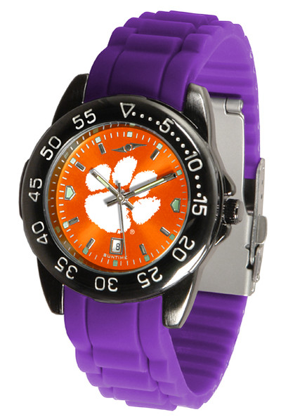 Clemson Tigers Men's Fantom Sport AC AnoChrome Watch | SunTime | ST-CO3-CLT-FANTOM-AC