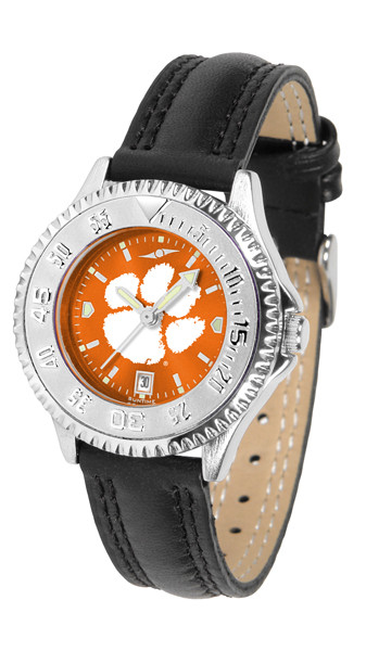 Clemson Tigers Ladies Competitor AnoChrome Watch | SunTime | ST-CO3-CLT-COMPL-A