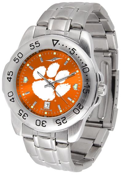 Clemson Tigers Sport Steel AnoChrome Watch | SunTime | ST-CO3-CLT-SPORTM-A