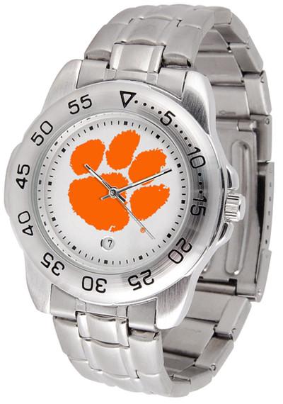 Clemson Tigers Men's Sport Steel Watch | SunTime | ST-CO3-CLT-SPORTM