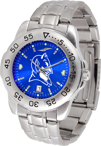 Duke Blue Devils Sport Steel AnoChrome Watch | SunTime | ST-CO3-DBD-SPORTM-A