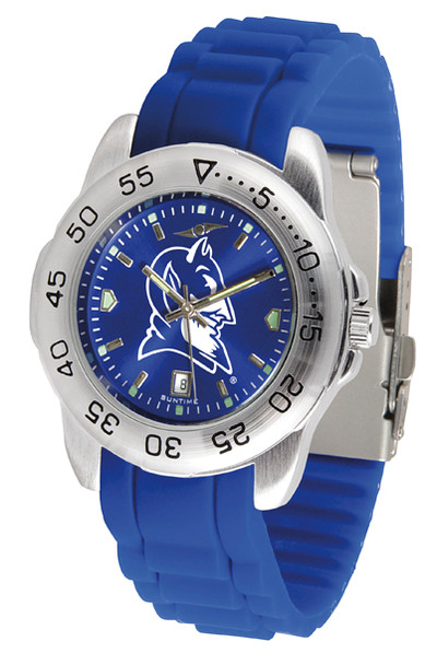 Duke Blue Devils Men's Sport AC AnoChrome Watch | SunTime | ST-CO3-DBD-SPORT-AC