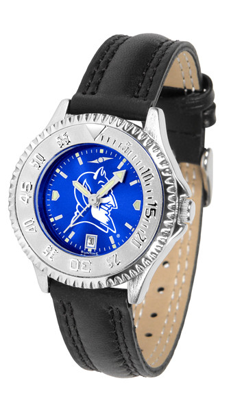 Duke Blue Devils Ladies Competitor AnoChrome Watch | SunTime | ST-CO3-DBD-COMPL-A
