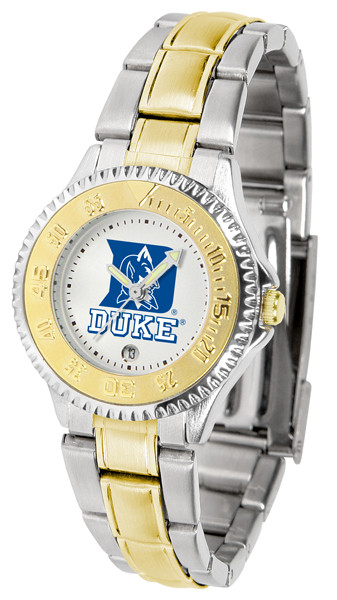 Duke Blue Devils Ladies Competitor Two-Tone Watch | SunTime | ST-CO3-DBD-COMPLMG