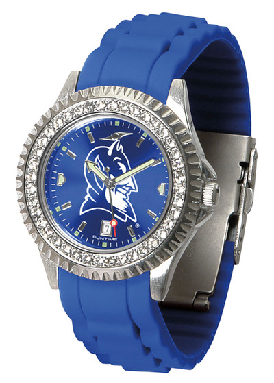 Duke Blue Devils Ladies Sparkle Watch | SunTime | ST-CO3-DBD-SPARKLE