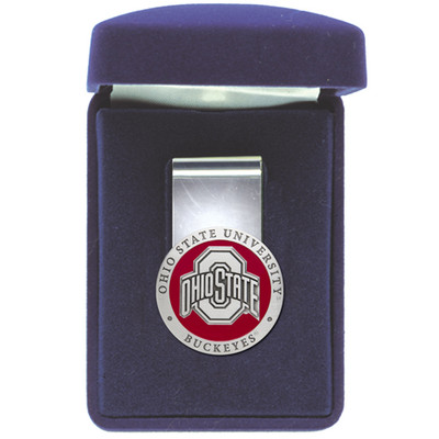 Ohio State Buckeyes Money Clip | Heritage Pewter