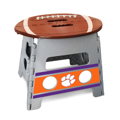 Clemson Tigers Folding Step Stool | Fanmats | 245743
