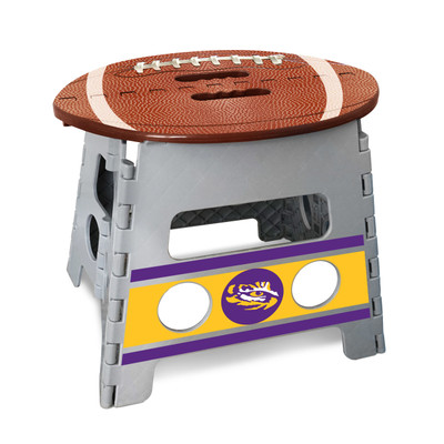LSU Tigers Folding Step Stool | Fanmats | 24582