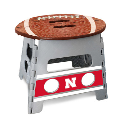 Nebraska Huskers Folding Step Stool | Fanmats | 24583