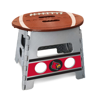 Louisville Cardinals Folding Step Stool | Fanmats | 24585