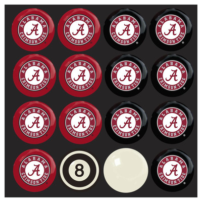 Alabama Crimson Tide Pool Ball Set | Imperial International | 50-4001
