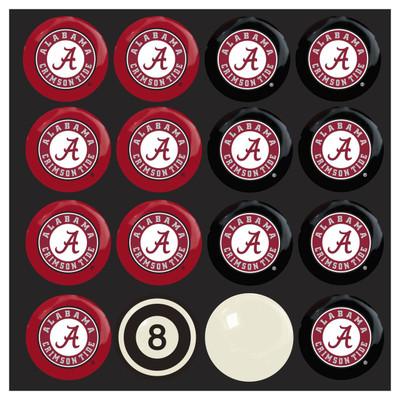 Alabama Crimson Tide Pool Ball Set   Imperial International   50-4001