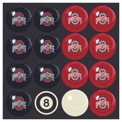 Ohio State Buckeyes Pool Ball Set | Imperial International | 50-4015
