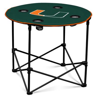 Miami Hurricanes Portable Table | Logo Chair |169-31