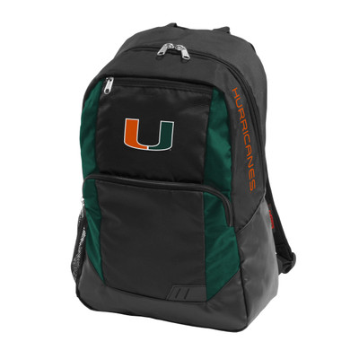 Miami Hurricanes Closer Backpack | Logo Chair | 169-86