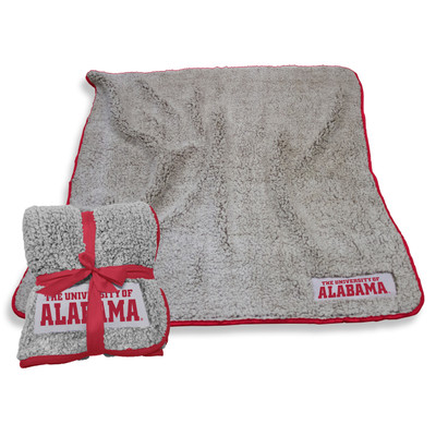 Alabama Crimson Tide Frosty Fleece Blanket Blanket | Logo Chair | 102-25F-1
