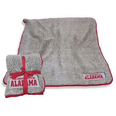 Alabama Crimson Tide Frosty Fleece Blanket Blanket | Logo Chair | 102-25F-1