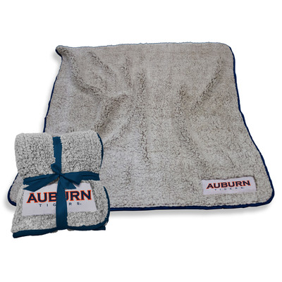 Auburn Tigers Frosty Fleece Blanket | Logo Chair | 110-25F-1