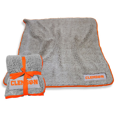 Clemson Tigers Frosty Fleece Blanket Blanket | Logo Chair | 123-25F-1