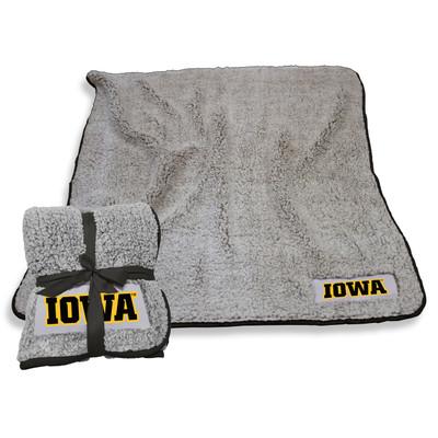 Iowa Hawkeyes Frosty Fleece Blanket | Logo Chair | 155-25F-1